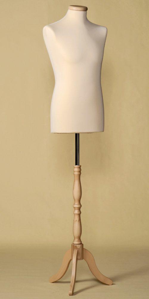 busto-sartoriale-uomo-treppiede-legno-economico