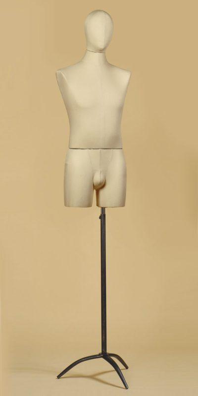 busto-uomo-sartoriale-coscia-cotone-panama-treppiede
